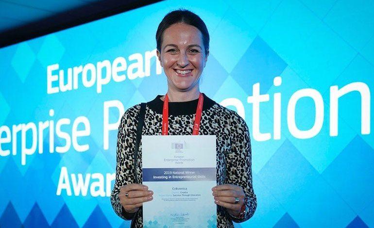 Grad Crikvenica nacionalni pobjednik u konkurenciji ua europsku nagradu promicanje poduzetništva 2019.