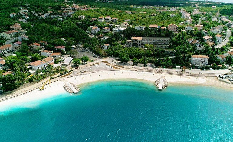 Plaža i trg Grabrova – novo lice Jadranova