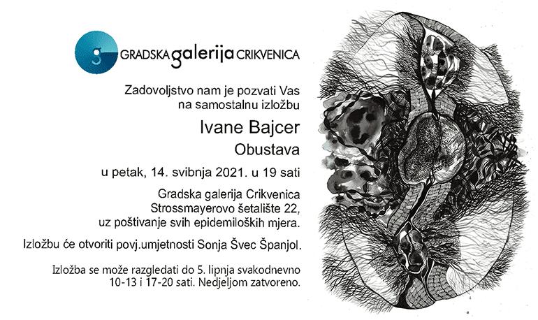 Izložba Ivane Bajcer u Gradskoj galeriji Crikvenica