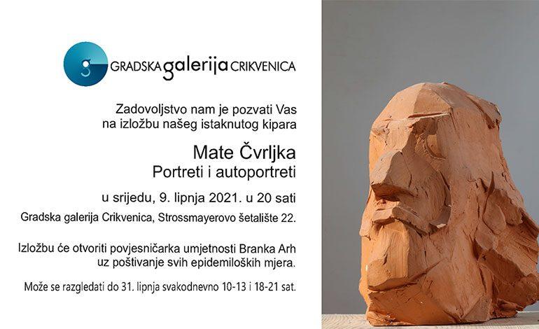 Mate Čvrljak u Gradskoj galeriji Crikvenica – srijeda, 9. 6. u 20 sati