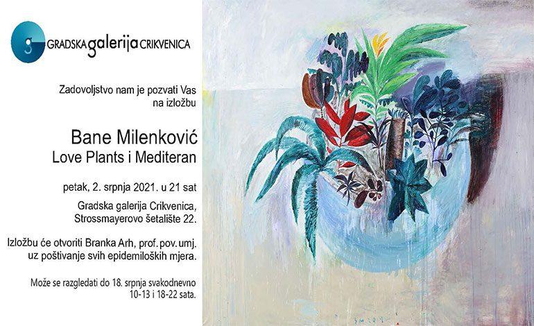 Bane Milenković u Gradskoj galeriji Crikvenica – petak, 2. 7. u 21 sat