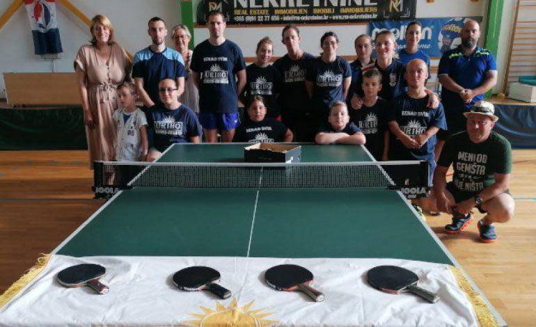 Prezentacija stolnog tenisa za osobe s invaliditetom