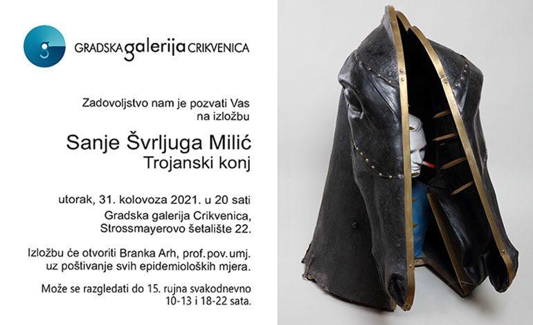 Izložba Sanje Švrljuga Milić u Gradskoj galeriji Crikvenica