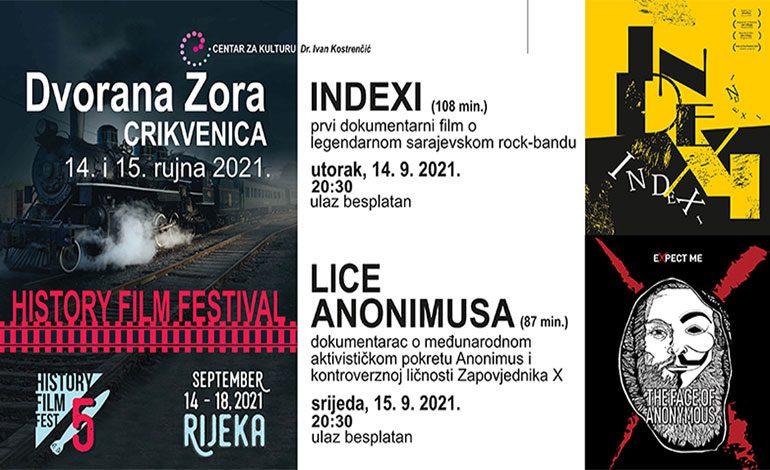 History film festival 14. i 15. rujna u Crikvenici